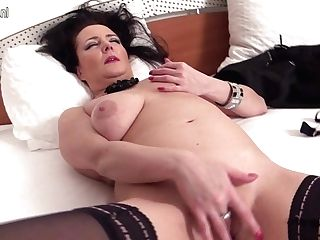 Wild Matures Mega-slut Masturbating All Alone - Maturenl