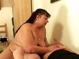 He Fucks Chubby Wifes Mom From Behind
