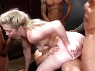 Nubile Slutwife Caught By Five Of Hubby's Friends