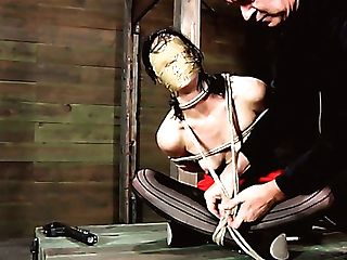 Cheesecake Dark Haired Mummy Gets Her Beaver Jacked With Thumbs In Domination & Submission