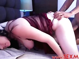 Claudia Valenzuela Is Wearing A Sexy Sundress While Railing A Rock Hard Salami In The Bedroom