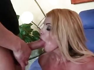 Sexy Blonde Mummy Lets A Boy Fuck Her