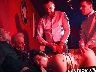 Gang-bang With Olga Love With Dual Vaginal Activity - Mariskax