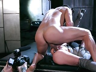 All Lubricated Lady Angela Milky Is Ready For Some Rough Buttfuck Banging